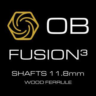 OB Fusion-3 Shafts Wood Ferrule 11.8mm
