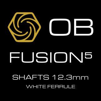 OB Fusion-5 Shafts White Ferrule 12.3mm